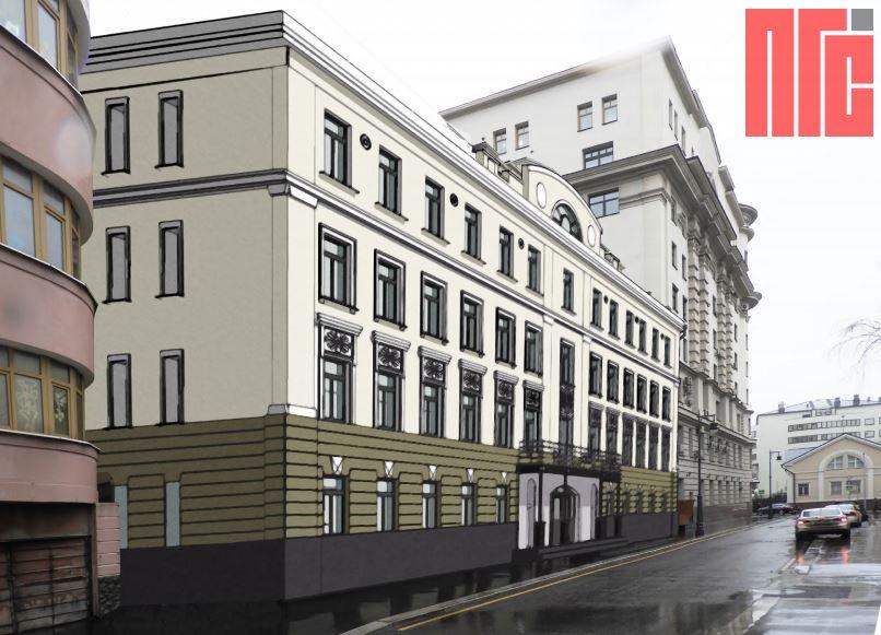 Архитектурно-градостроительное решение объекта, расположенного по адресу: г. Москва, 2-й Казачий пер., д. 11, стр. 1