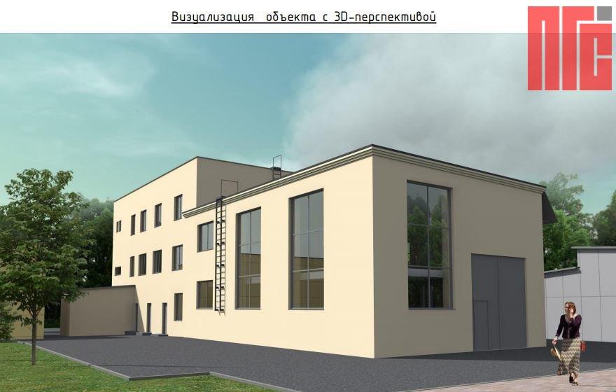 Архитектурно-градостроительное решение объекта, расположенного по адресу: г. Москва, ул. Котляковская, д. 3, стр. 4