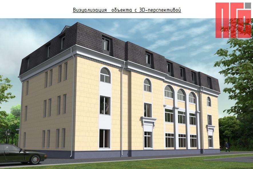 Архитектурно-градостроительное решение объекта, расположенного по адресу: г. Москва, Строительный пр-д, д. 7А, корп. 9
