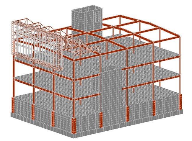 Расчёт строительных конструкций