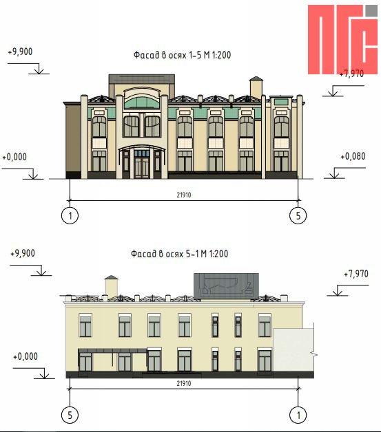 Архитектурно-градостроительное решение объекта, расположенного по адресу: г. Москва, ул. Большая Ордынка, д. 29/10, стр. 3