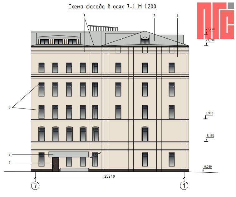 Архитектурно-градостроительное решение объекта, расположенного по адресу: г. Москва, Милютинский пер., д. 13, стр. 1