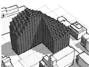 Моделирование и анализ инсоляции при проектировании зданий в условиях плотной городской застройки